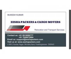 Movers and Packers in Visakhapatnam,Vizag   EESHA Packers &  Movers