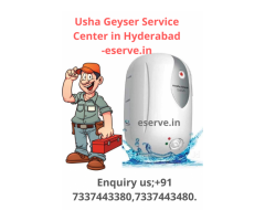 Usha Geyser Service Center in Hyderabad -eserve.in