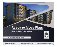 Ready to Move flats in JP Nagar-HM Construction