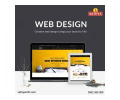 Web Design Company In India | Sathya Technosoft