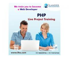 PHP LIVE PROJECT TRAINING IN HYDERABAD