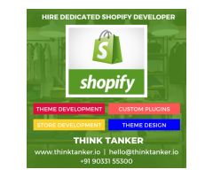 ThinkTanker - Top Shopify Development Company India