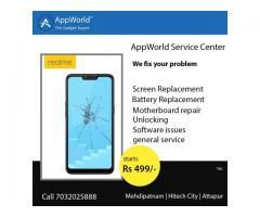 AppWorld™ - Rs.499 30 mins Repair - realme service center