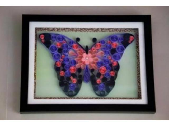 Wedding gifts for home decor Abstract Butterfly art work Aadhi Creation - 1/1