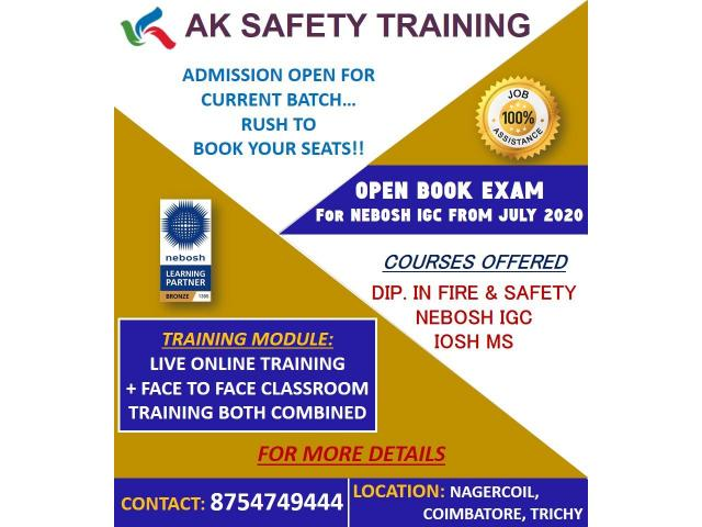 Fire and Safety course in Nagercoil - 1/1