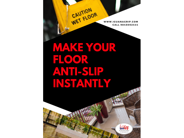 IguanaGrip Anti-slip solutions for slippery floors - 1/1