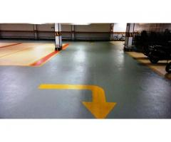 Electro Static Dicipative Epoxy floors for parking areas.