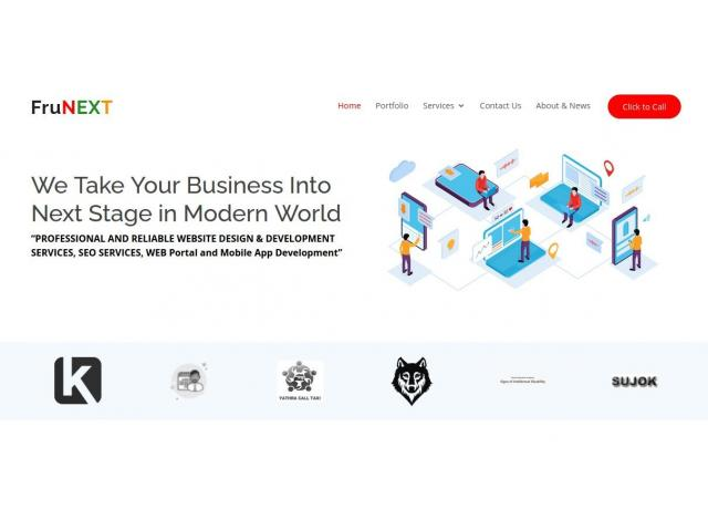Best Web Design in Chennai – SEO Freelancer Chennai – FruNext - 1/1