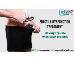 Get The Best Erectile Dysfunction treatment in Kerala?
