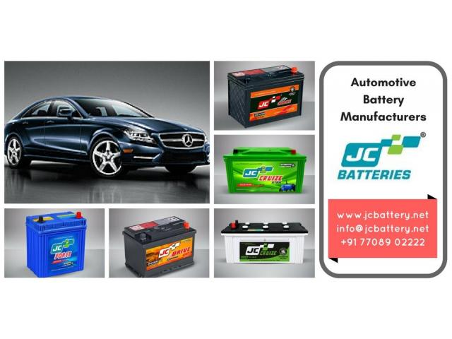Automotive Battery Manufacturers in India - 1/1