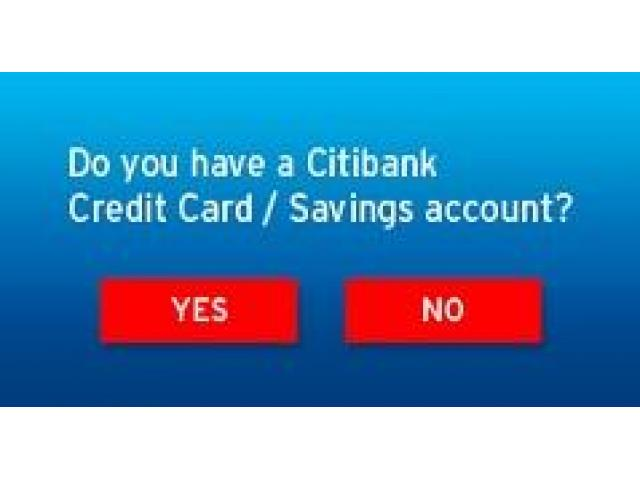 Do you have a citi bank credit card and apply for it - 1/1