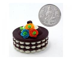 5gm Silver coin with innovative box Corporate gift for festival