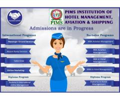 PIMS INSTITUTE OF AVIATION SHIPPING AND  HOTEL MANAGEMENT