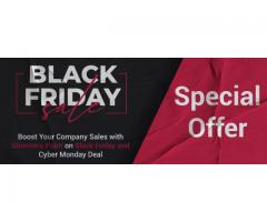 Boost Your Company Sales with Glimmers Point on Black Friday and Cyber Monday Deal