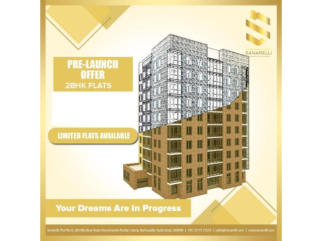 High Rise Gated Community Apartments - 1/1