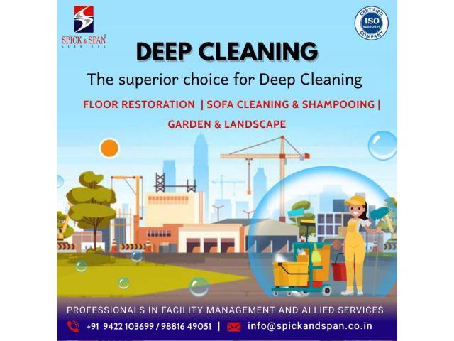 Deep Cleaning Service | Spick and Span Facility Management Services - 1/1