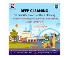 Deep Cleaning Service | Spick and Span Facility Management Services