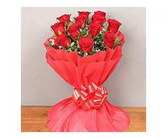 Order Rose Flowers Bouquet Online on Valentine with 10% OFF