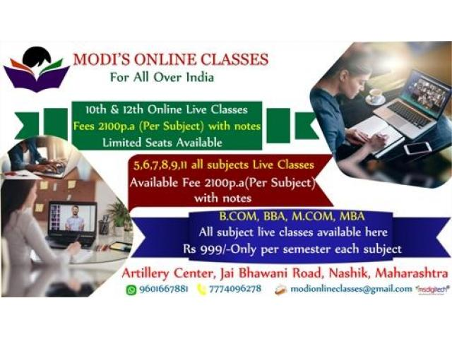 Online classes for 10th & 12th Nashik, India - 1/1