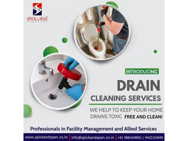 Drain Cleaning Service in Nagpur   Spick and Span Services - 1/1