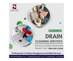 Drain Cleaning Service in Nagpur | Spick and Span Services
