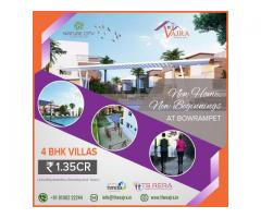 Villa Projects in Bowrampet | Vajradevelopers
